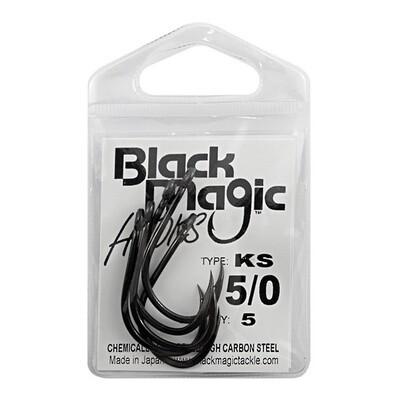 KS 5/0 Black Hooks