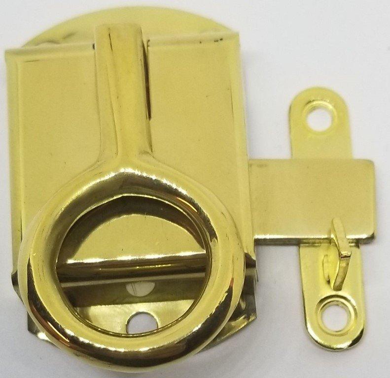 LEFT HAND Solid BRASS Napanee Wilson Ring Cabinet Door ...
