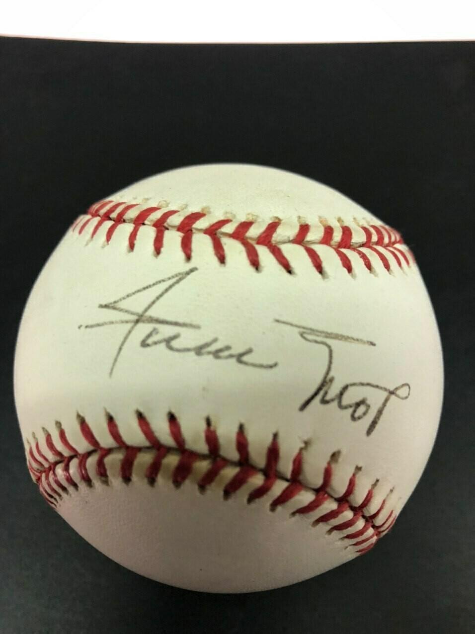 Willie Mays Signed Baseball - Steiner Cert.