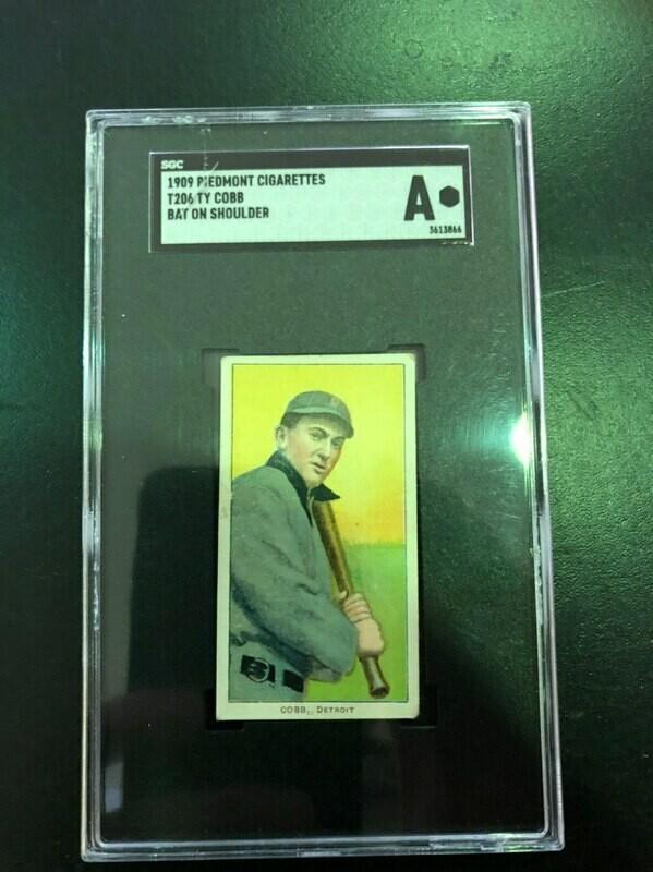 1909 T206 Ty Cobb SGC graded Authentic