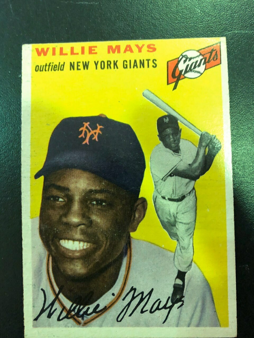 1954 Topps #90 Willie Mays, List $800, sell $695