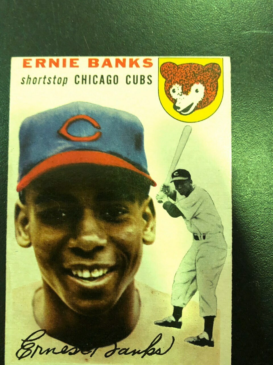 1954 Topps #94 Ernie Banks rookie, List $2000 sell $1250