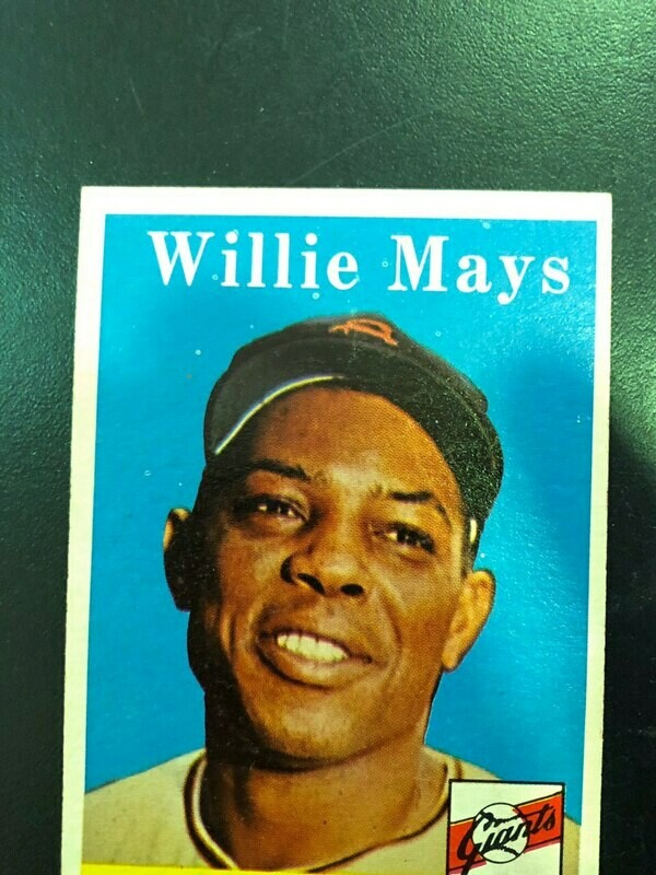1958 Topps #5 Willie Mays, Sell $250