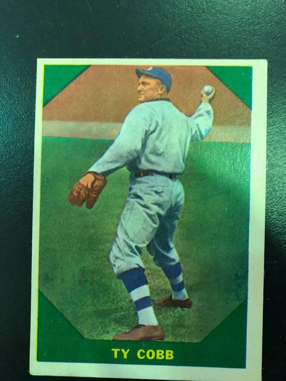 1960 Fleer #42 Ty Cobb, List $50, Sell $40