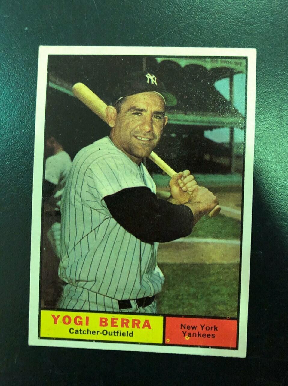 1961 Topps #425 Yogi Berra, List $100, Sell $90