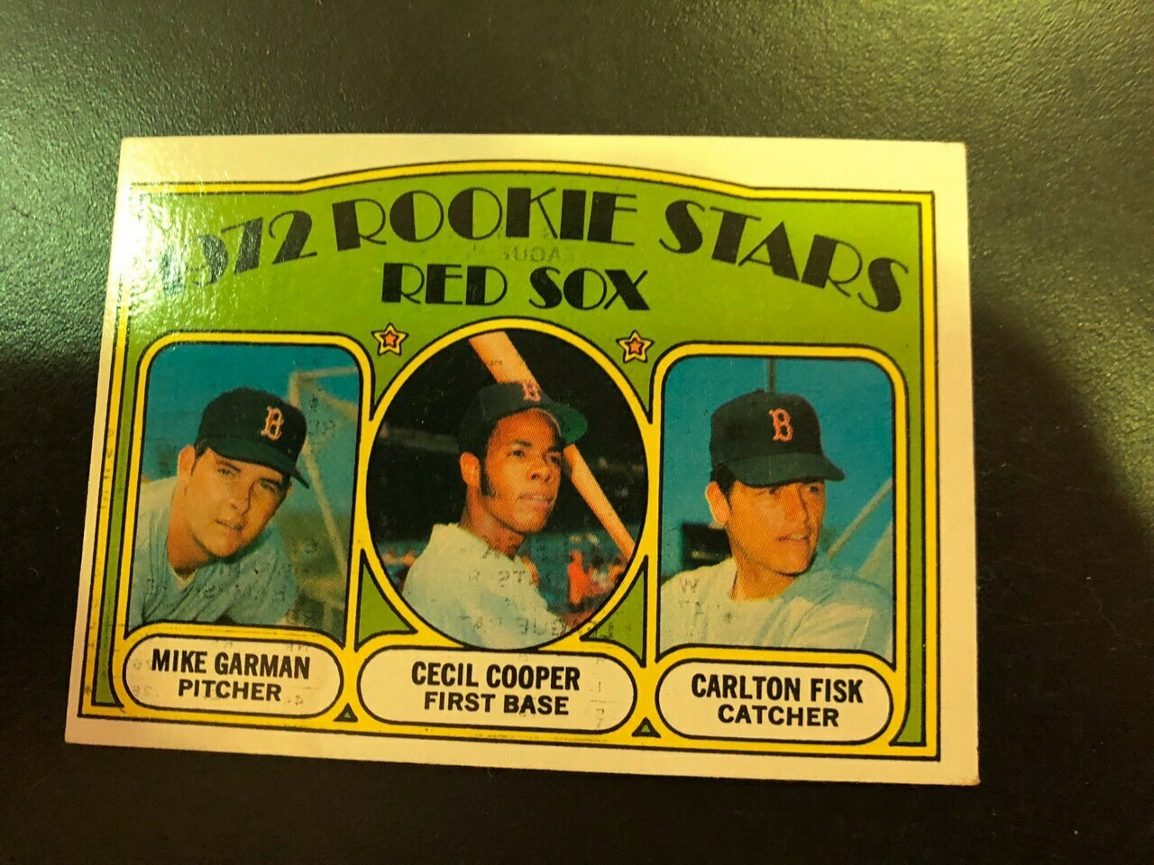 1972 Topps #79 Carlton Fisk rookie, List $50, Sell $40