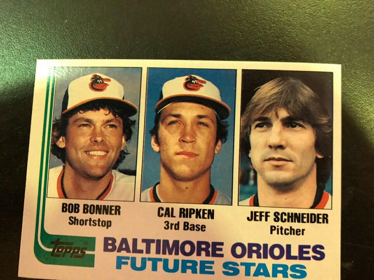 1982 Topps #21 Cal Ripken Jr. rookie