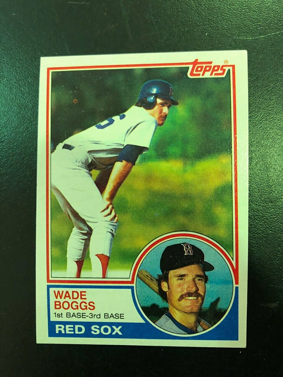 1983 Topps Wade Boggs rookie