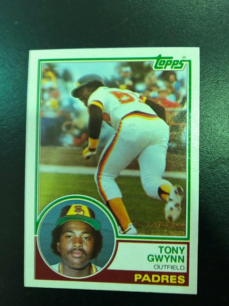 1983 Topps Tony Gwynn rookie