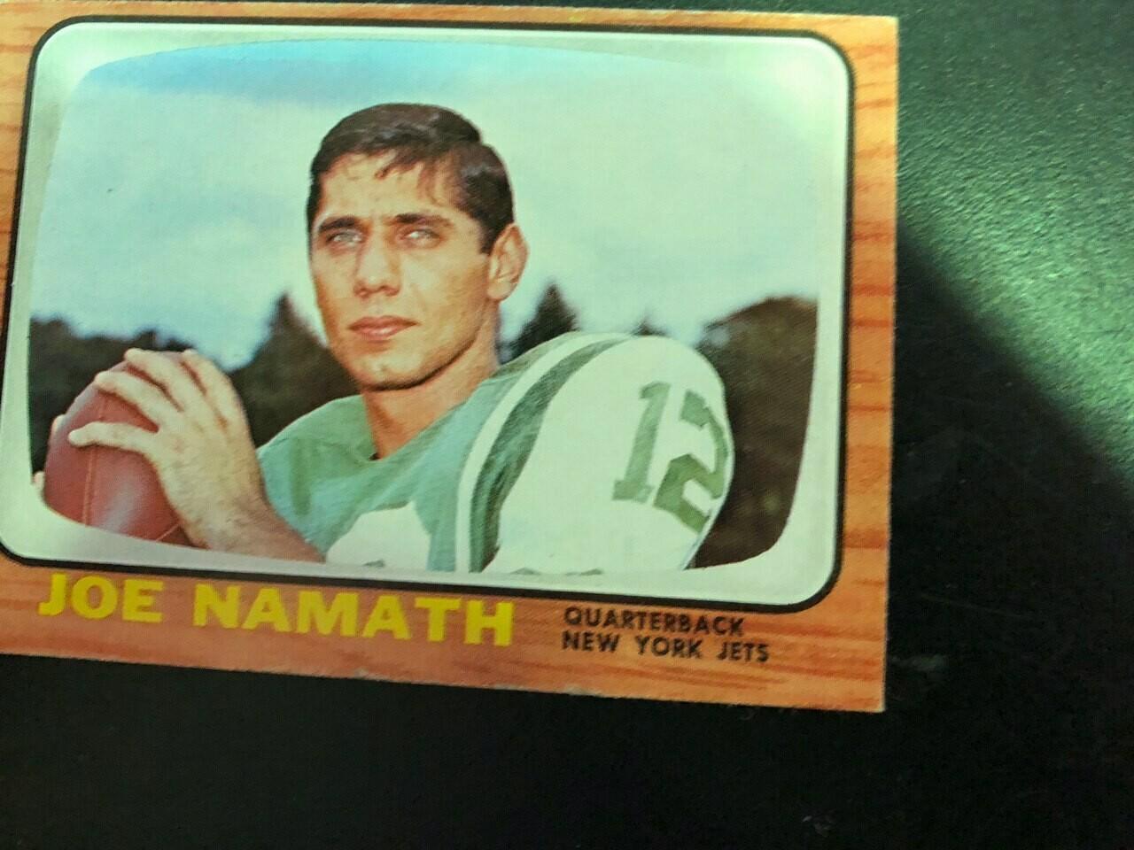 1966 Topps #96 Joe Namath, List $250, Sell $225