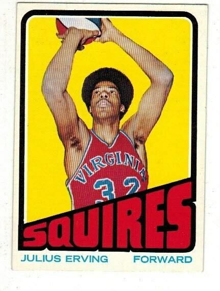 1972/73 Topps Julius Erving rookie