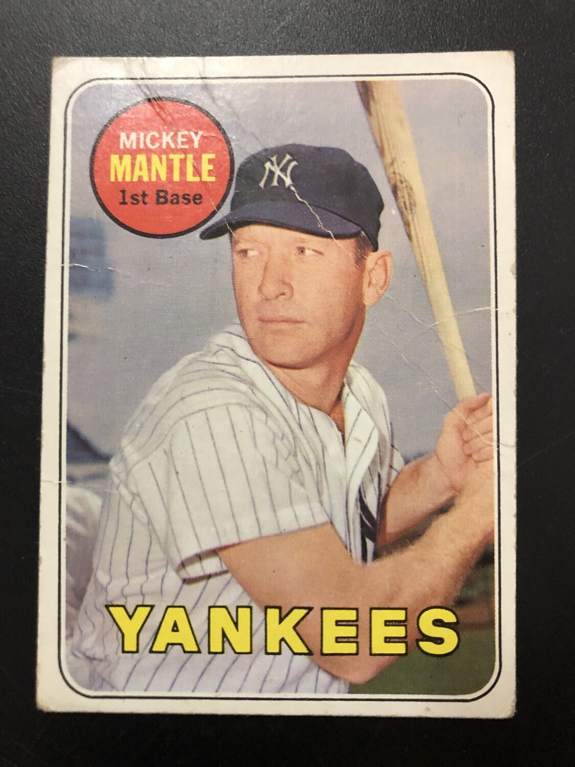 1969 Topps #500 Mickey Mantle Good