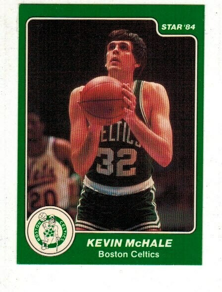 1984/85 Star #34 Kevin McHale SP