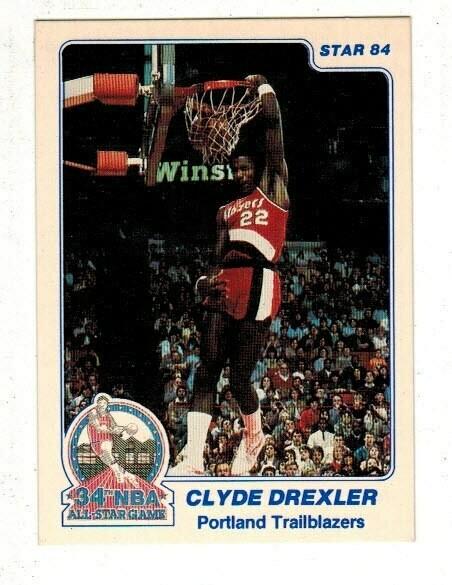 1984/85 Star #3 Clyde Drexler
