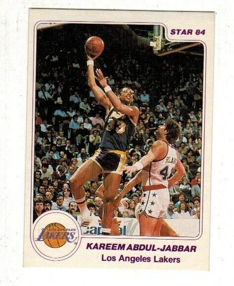 1984/85 Star #1 Kareem Abdul Jabbar Arena