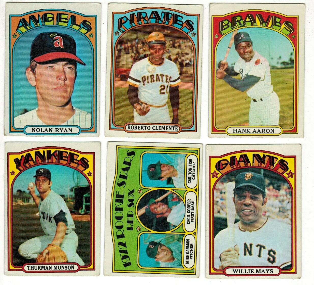 1972 Topps Complete Baseball set VG Condition #1-787
