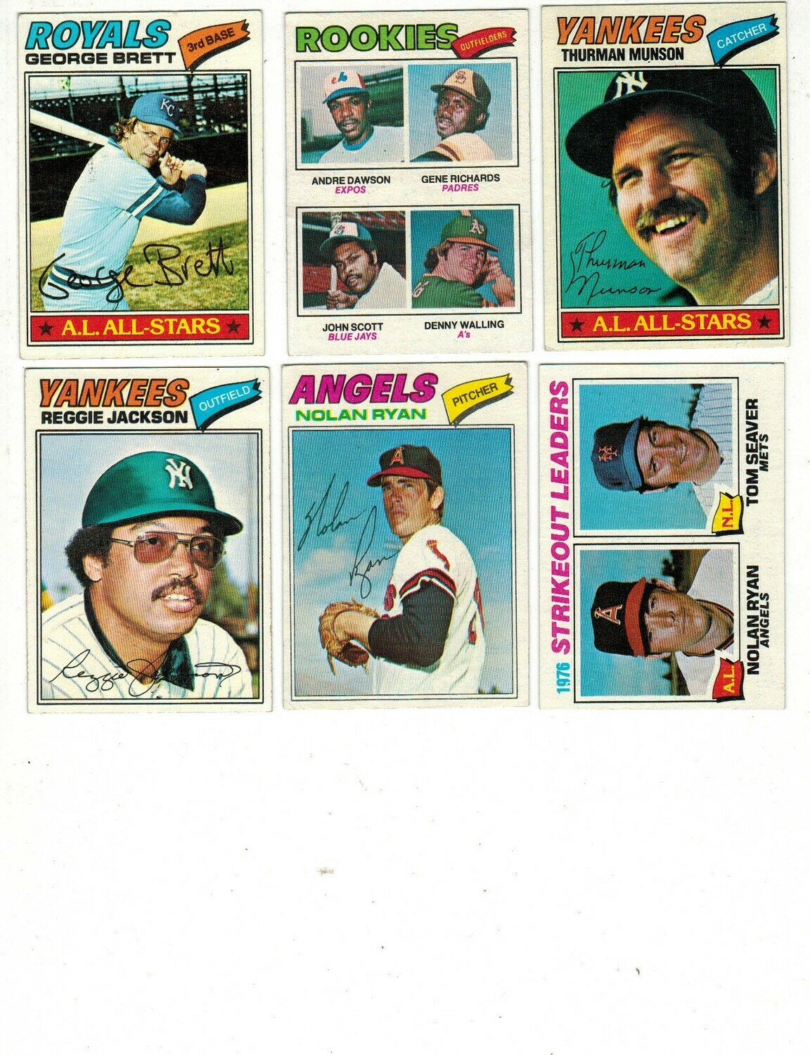 1977 Topps Complete Baseball set Ex to Ex/Mint
