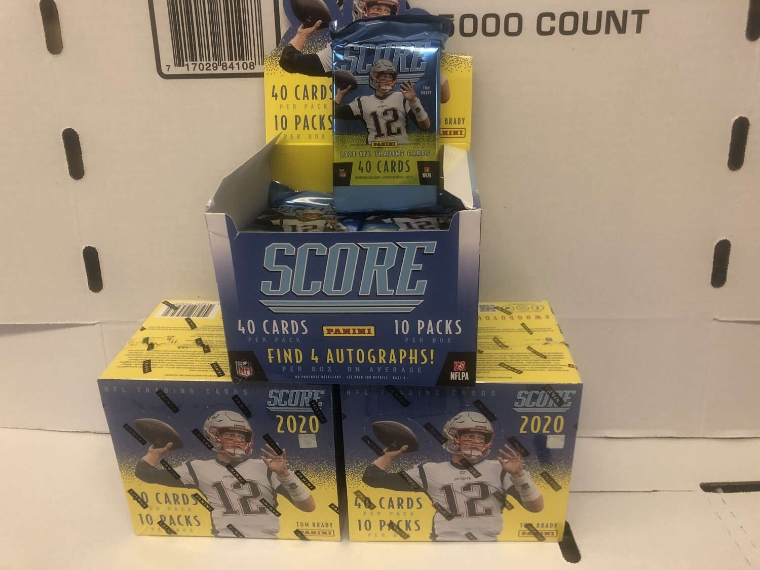 '20 Score football & other new Football Boxes