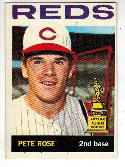 1964 Topps #125 Pete Rose 2nd Year, List $300, Sell $175