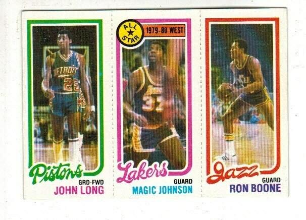1980/81 Topps Magic Johnson card