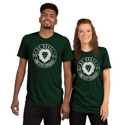 Do Brave Emblem Unisex Tri-Blend T-Shirt