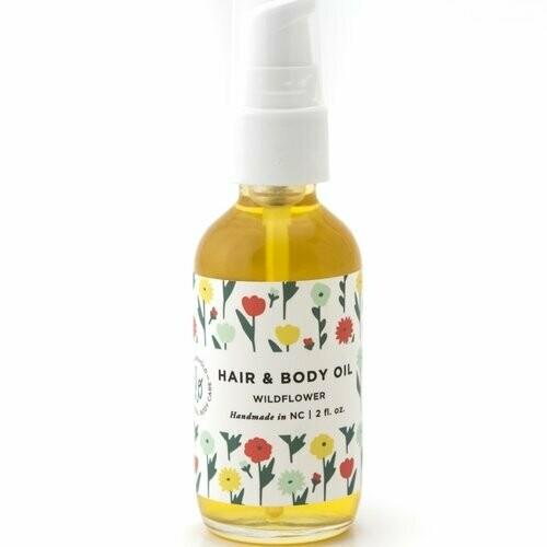 Hair & Body Oil - Wildflower