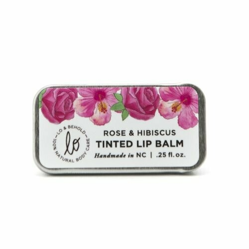 Tinted Lip Balm - Rose & Hibiscus