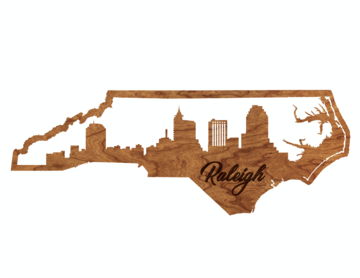 LazerEdge Raleigh Skyline