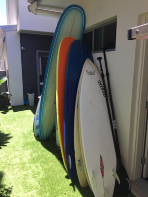 6'2 Webber Epoxy Swallow tail thruster