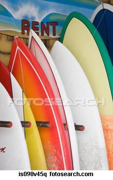 Surfboard Hire - Mobile to door