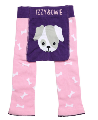 Izzy & Owie Pink Puppy Leggings