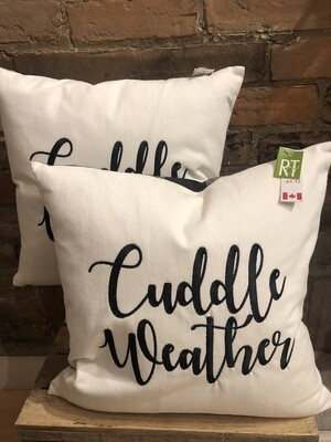 Cuddle Weather 18x18 Pillow