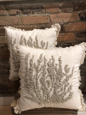 Coral 17x17 Pillow