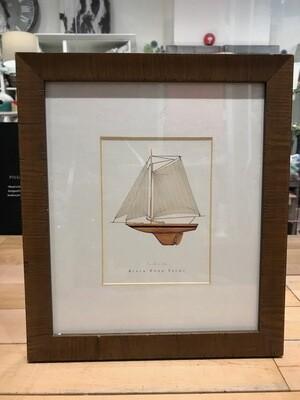 Black Pond Yacht Wooden Frame