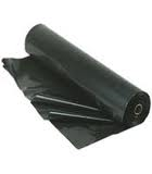 4 Mil Poly Sheeting - 20' x 100' Black (2,000 SF) Free Freight!