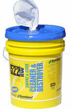 522 Smoke & Odor Destroyer Wipes (PL) by Sentinel