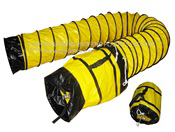 Yellow Flex Duct w/Bag, 12