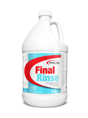 Final Rinse (Gallon) by Newline | Carpet Neutralizing Rinse & Anti-Browning Treatment