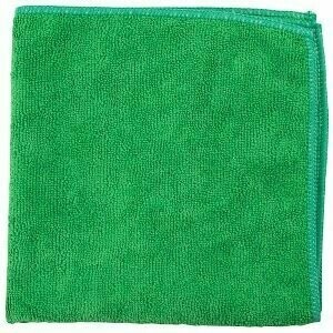 Green Microfiber Towel |  16x16