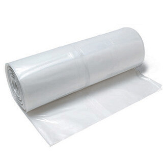 4 Mil Poly Sheeting - 12' x 100' Clear (1,200 SF) Free Freight!