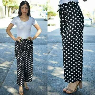 Pantalon lunares modelo Lun-negro