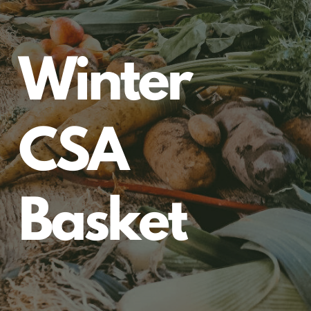 Winter Into Spring CSA Basket