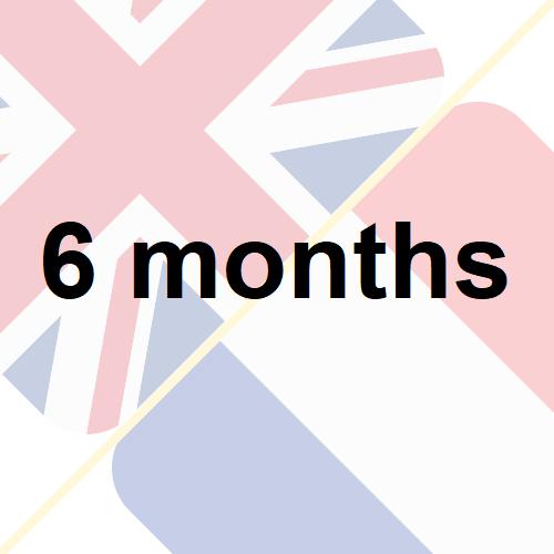 6 months insurance