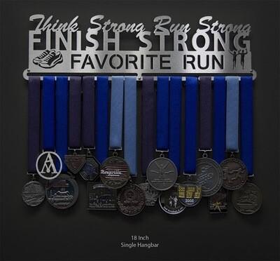 Favorite Run THINK STRONG. RUN STRONG. FINISH STRONG.