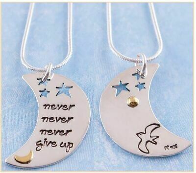 Never Never Never Giveup Necklace
