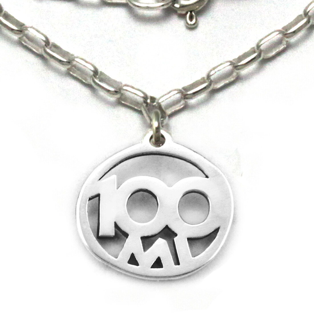 100 Mile Necklace Sterling Silver