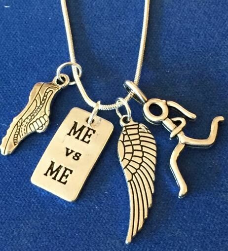 Running Necklace Me vs. Me