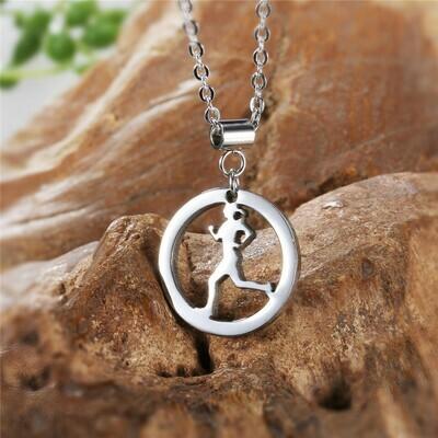 Runner Girl Necklace