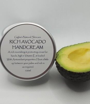 Avocado Handcream