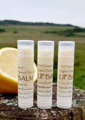 5ml Lip Balm citrus
